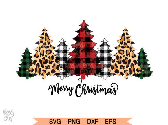 Download Free Buffalo Plaid Trees Svg Graphic By Roxysvg26 Creative Fabrica for Cricut Explore, Silhouette and other cutting machines.