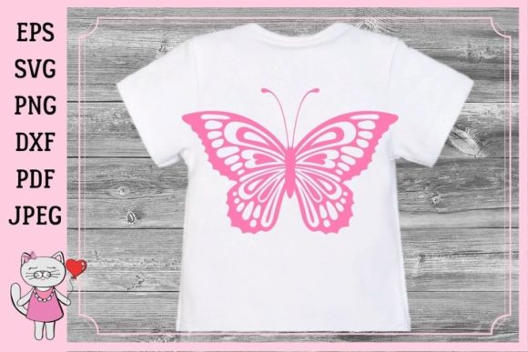 Download Free Butterfly Paper Graphic By Magic World Of Design Creative Fabrica for Cricut Explore, Silhouette and other cutting machines.
