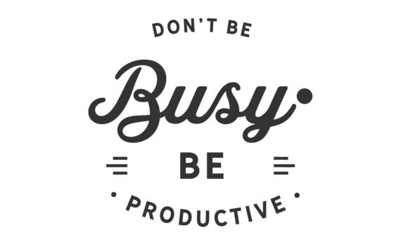 Print on Demand: Don't Be Busy Graphic Illustrations By baraeiji