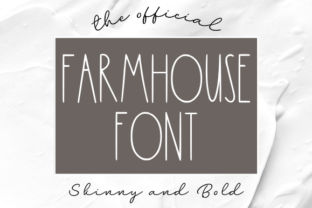 Print on Demand: Farmhouse Sans Serif Font By Unicorn Creative