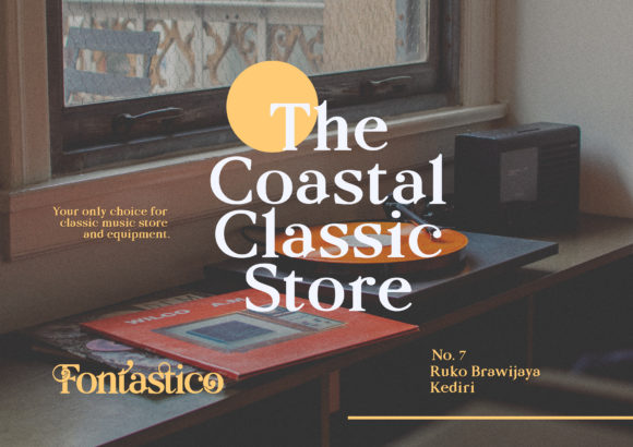 Print on Demand: Fontastico Serif Font By intuisicreative - Image 5