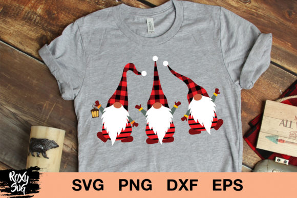 Print on Demand: Gnome Graphic Crafts By roxysvg26