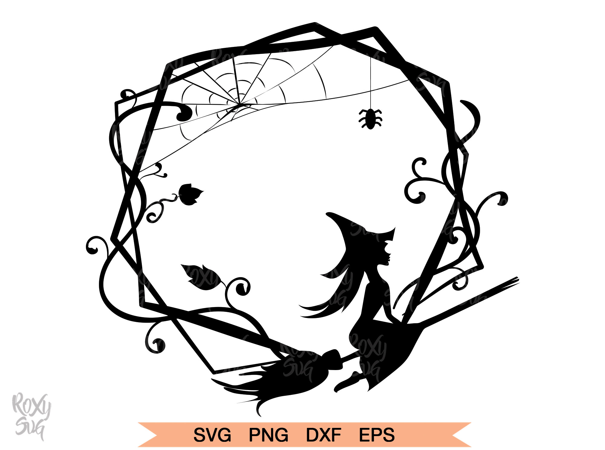 Download Free Halloween Witch Svg Graphic By Roxysvg26 Creative Fabrica for Cricut Explore, Silhouette and other cutting machines.