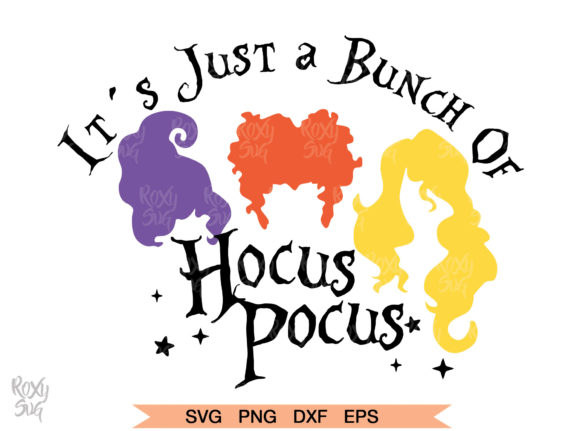 Print on Demand: Hocus Pocus SVG Graphic Crafts By roxysvg26