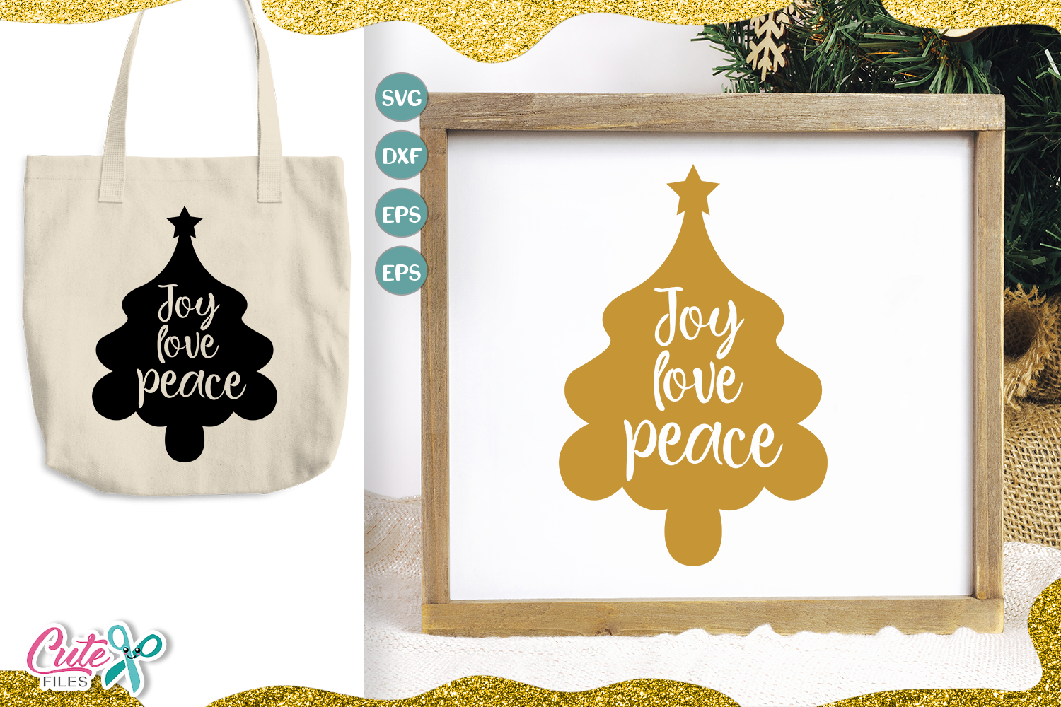 Download Free Joy Love Peace Svg Cut File For Crafters Graphic By Cute Files Creative Fabrica for Cricut Explore, Silhouette and other cutting machines.