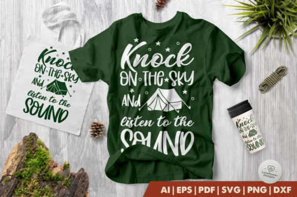 Print on Demand: Knock on the Sky and Listen to the Sound Graphic Crafts By LovePowerDesigns