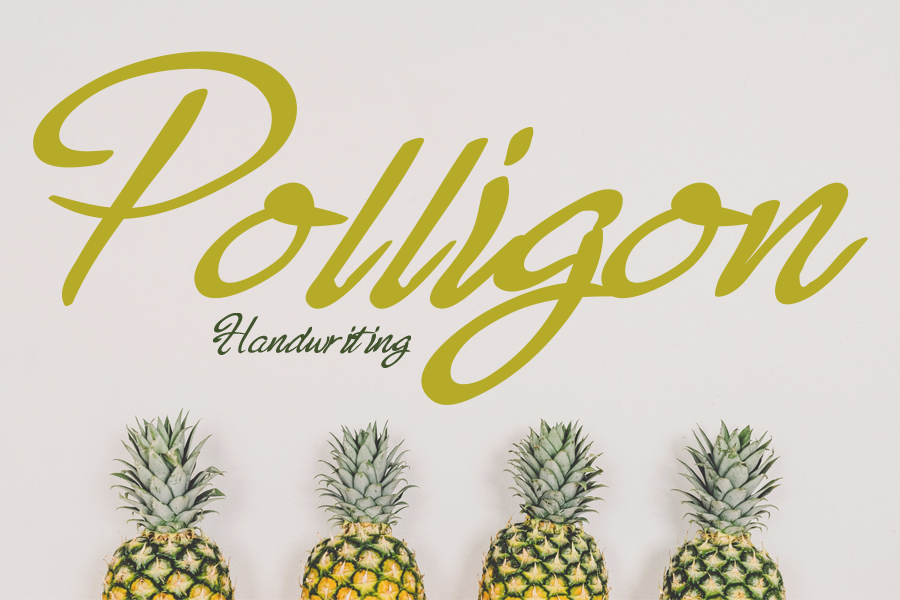 Download Free Polligon Font By Gunawanletter Creative Fabrica for Cricut Explore, Silhouette and other cutting machines.