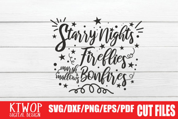 Print on Demand: Starry Nights Graphic Crafts By KtwoP