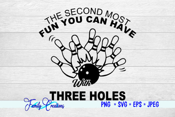 Download Free The Second Most Fun Graphic By Family Creations Creative Fabrica for Cricut Explore, Silhouette and other cutting machines.