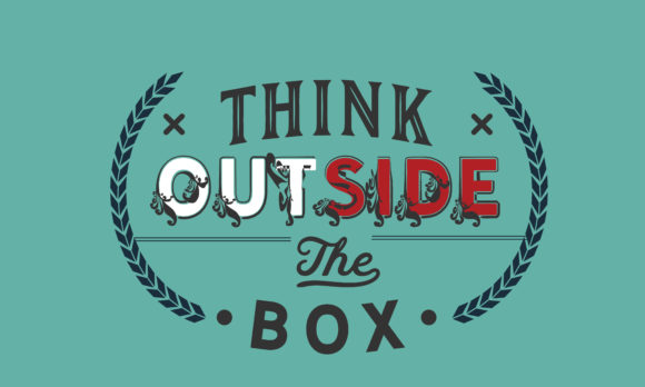 Print on Demand: Think Outside the Box Graphic Illustrations By baraeiji
