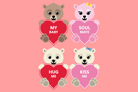 Download Free Valentine Heart Bundle Clipart Graphic By Captaincreative for Cricut Explore, Silhouette and other cutting machines.