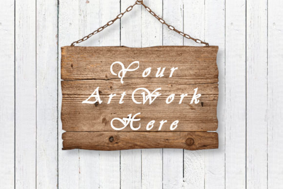 Wooden Board Mockup Graphic Product Mockups By MockupsByGaby