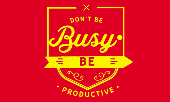 Print on Demand: Be Productive Graphic Illustrations By baraeiji