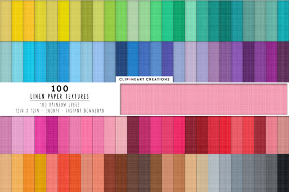100 Linen Textures Papers Graphic Backgrounds By clipheartcreations