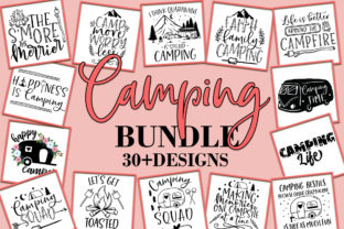 Print on Demand: Camping Bundle Graphic Crafts By freelingdesignhouse