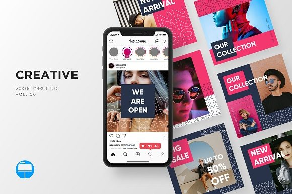 Download Free Instagram Stories Pack Powerpoint Graphic By Wijayacreative for Cricut Explore, Silhouette and other cutting machines.