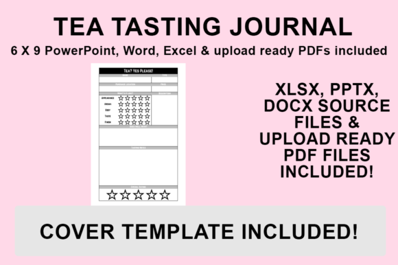 Print on Demand: KDP Interior - Tea Tasting Journal Graphic KDP Interiors By Luke Bowes