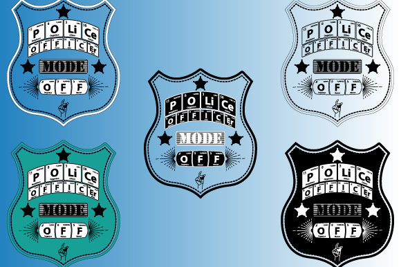 Print on Demand: Periodic Table Police Officer Mode off Graphic Illustrations By GraphicsFarm