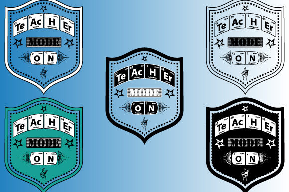 Print on Demand: Periodic Table Teacher Mode on Vector Graphic Illustrations By GraphicsFarm