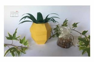 Pineapple Graphic 3D SVG By patrizia.moscone
