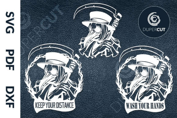 Plague Doctor Graphic Illustrations By DuperCut