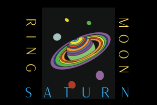 Print on Demand: Space-Themed Saturn KDP Interior Graphic KDP Interiors By Majestic Twelve