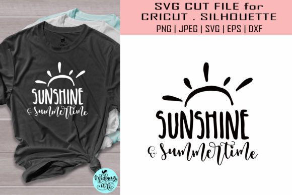Sunshine and Summertime Graphic Objects By MidmagArt
