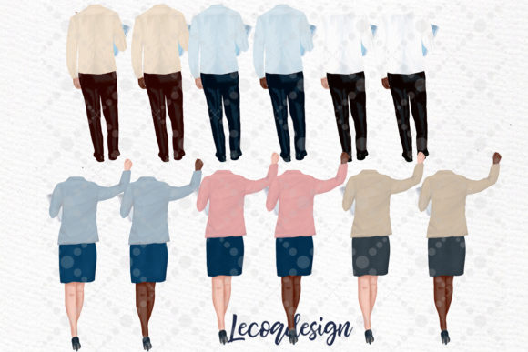 Teachers Back to School Clipart Graphic Illustrations By LeCoqDesign - Image 2