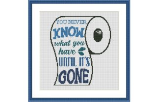 Print on Demand: You Never Know Funny Cross Stitch Graphic Cross Stitch Patterns By Tango Stitch