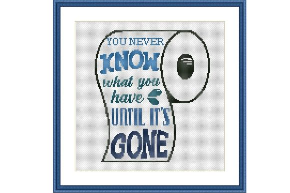 You Never Know Funny Cross Stitch Graphic Cross Stitch Patterns By Tango Stitch