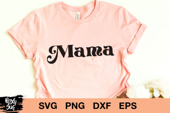 Print on Demand: Mama Graphic Crafts By roxysvg26