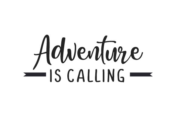 Adventure is Calling Natur Plotterdatei von Creative Fabrica Crafts