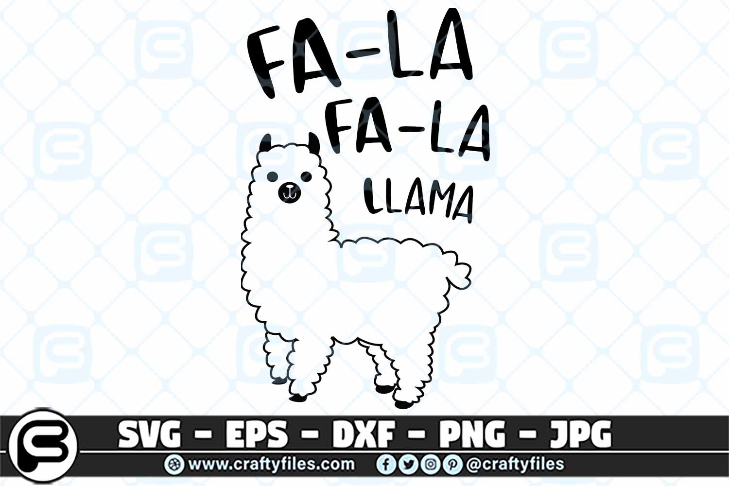 Download Free Fala Fala Llama Svg Mama Llama Svg Cut Graphic By Crafty Files for Cricut Explore, Silhouette and other cutting machines.