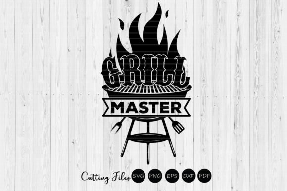 Print on Demand: Grill Master  Graphic Crafts By HD Art Workshop
