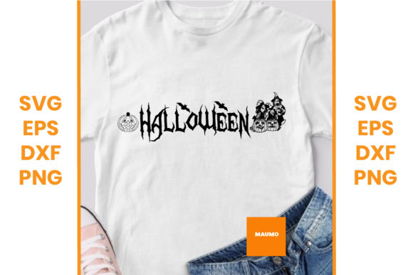 Download Free Halloween Graphic By Maumo Designs Creative Fabrica for Cricut Explore, Silhouette and other cutting machines.
