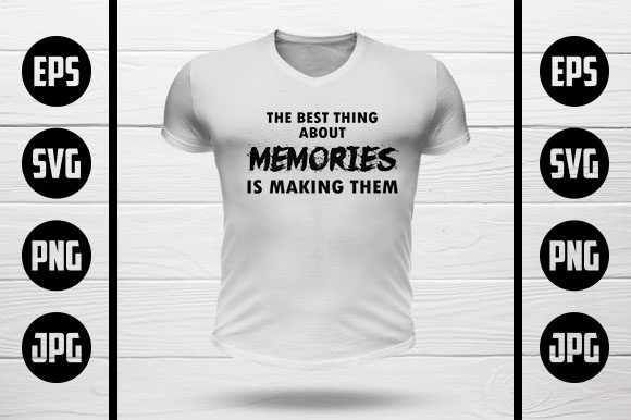 Memories T-Shirt Design Graphic Crafts By MY Creatives