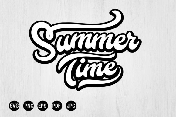 Download Free Summer Times Download Vector Svg Graphic By 99 Siam Vector for Cricut Explore, Silhouette and other cutting machines.