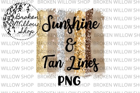 Sunshine and Tan Lines Summer Sublimation Graphic Crafts By Broken Willow Shop