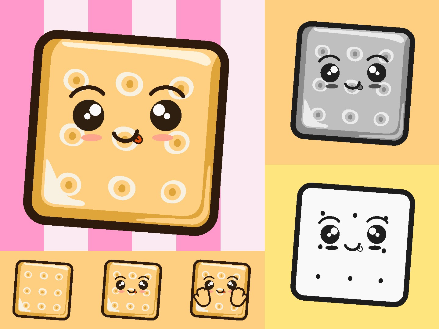 biscuit vector illustration icon graphic by novieart 99 creative fabrica creative fabrica