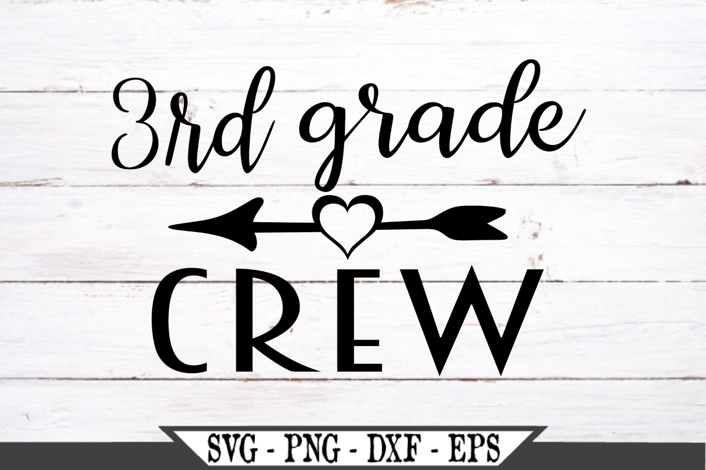 Download Free 3rd Grade Crew Svg Cut File Graphic By Crafters Market Co for Cricut Explore, Silhouette and other cutting machines.