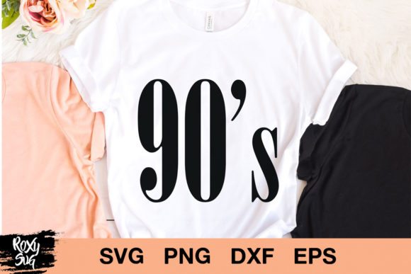 Print on Demand: 90s Vintage 1990 Graphic Crafts By roxysvg26