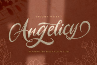 Print on Demand: Angelicy Script & Handwritten Font By StringLabs 1