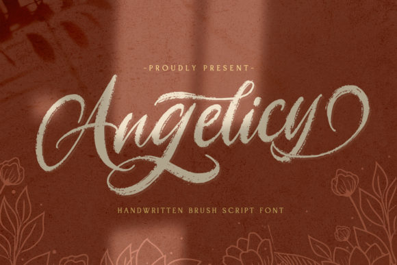 Print on Demand: Angelicy Script & Handwritten Font By StringLabs