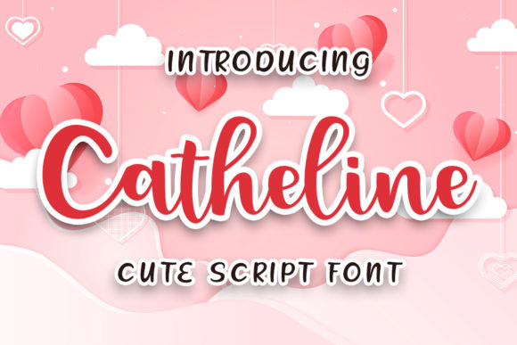 Print on Demand: Catheline Script & Handwritten Font By Skiiller Studio