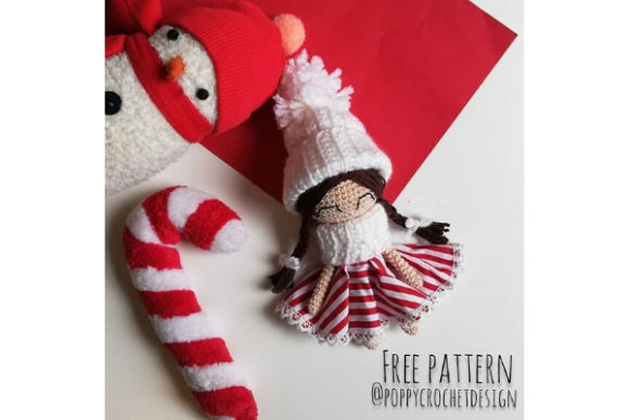 Christmas Candy Doll Crochet Pattern Graphic Crochet Patterns By Needle Craft Patterns Freebies