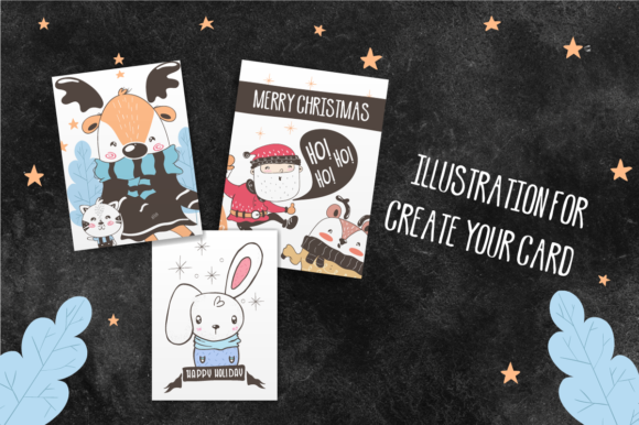 Christmas Character Illustration Graphic Illustrations By babyKer