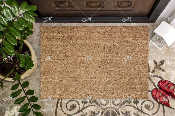Coir Doormat Mockup Graphic Product Mockups By MaddyZ - Image 2