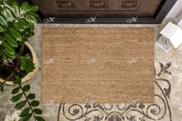 Coir Doormat Mockup Graphic Product Mockups By MaddyZ - Image 3