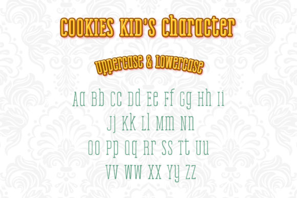 Print on Demand: Cookies Kid Serif Font By numnim - Image 2