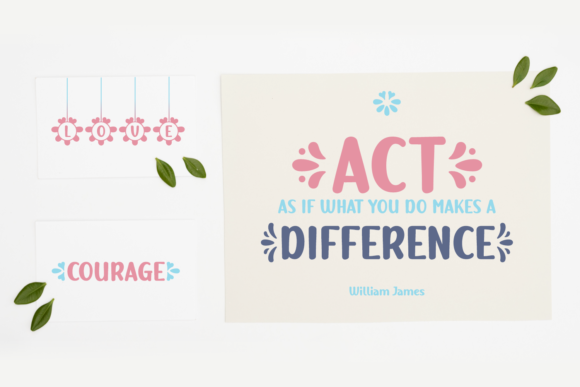 Print on Demand: Double Twice Script & Handwritten Font By Jasm (7NTypes) - Image 2